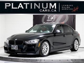 Used 2013 BMW 3 Series 335i xDrive, 6 SPPED, M SPORT, NAVi, CAM, SUNROOF for sale in Toronto, ON