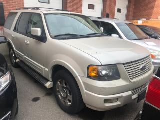 Used 2005 Ford Expedition Limited, 4WD, 7 PASSENGER, SUNROOF, COOLED SEATS for sale in Toronto, ON