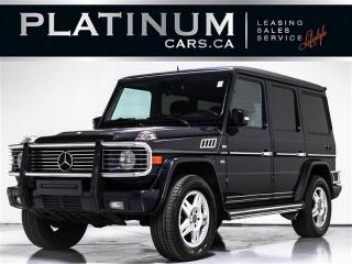 Used 2002 Mercedes-Benz G-Class G500, SUNROOF, HEATED MEMORY SEATS, BLUETOOTH for sale in Toronto, ON