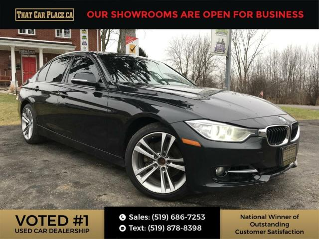 2013 BMW 328 i xDrive AWD-Htd Red Lthr Seats-NAVI-Sunroof-Bluetooth-Alloys