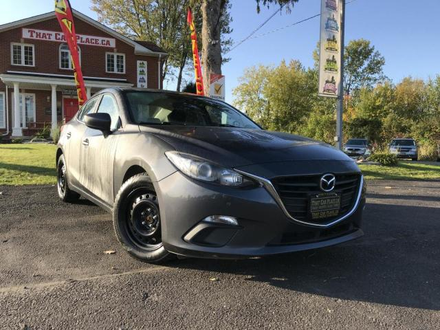 2015 Mazda MAZDA3 GX Backup Camera-Pwr Windows-Cruise-A/C