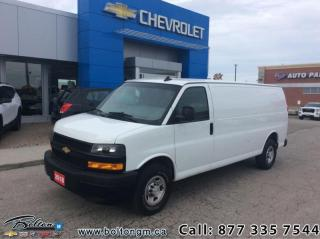 Used 2018 Chevrolet Express Cargo Van WT  -  Power Windows - $229 B/W for sale in Bolton, ON