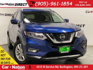 Used 2019 Nissan Rogue SV| AWD| PANO ROOF| APPLE CARPLAY & ANDROID AUTO| for sale in Burlington, ON