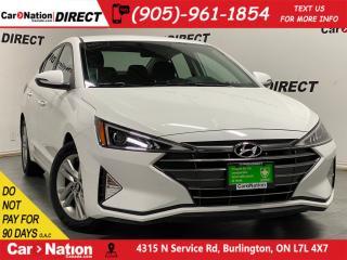 Used 2019 Hyundai Elantra Preferred| APPLE CARPLAY & ANDROID AUTO| for sale in Burlington, ON