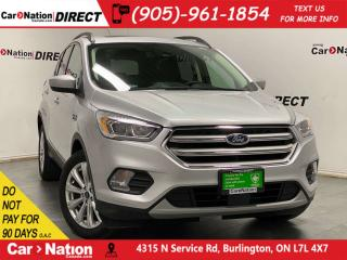 Used 2019 Ford Escape SEL| 4X4| LEATHER| PANO ROOF| for sale in Burlington, ON