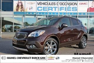 Used 2016 Buick Encore Leather for sale in St-Léonard, QC