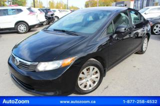 Used 2012 Honda Civic 4dr Auto LX for sale in Laval, QC