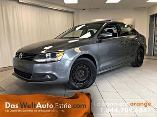 Used 2013 Volkswagen Jetta 2.0 TDI Highline, Cuir, Toit, Manuel for sale in Sherbrooke, QC