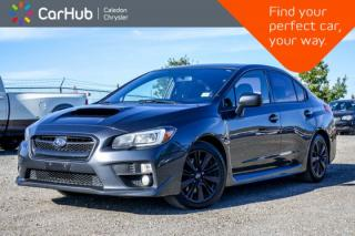 Used 2015 Subaru WRX w/Sport Pkg|AWD|Bluetooth|Heated Front Seats|Keyless Entry|Pwr windows|17