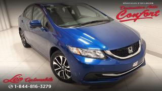 Used 2015 Honda Civic EX 4 portes, boîte automatique for sale in Chicoutimi, QC