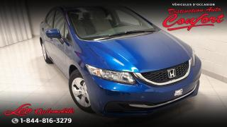 Used 2015 Honda Civic LX for sale in Chicoutimi, QC