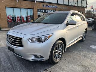 Used 2014 Infiniti QX60 AWD 4dr - PREMIUM - NAVIGATION - SUNROOF - CAMERAS for sale in North York, ON