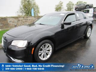 Used 2016 Chrysler 300 Touring - Leather, Navigation, Sunroof, Rear Camera, Bluetooth, Heated Seats, Alloys and more! for sale in Guelph, ON