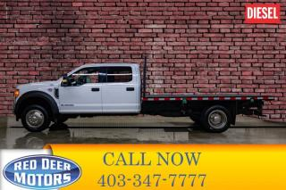 Used 2017 Ford F-550 4x4 Crew Cab XLT Deck Diesel for sale in Red Deer, AB