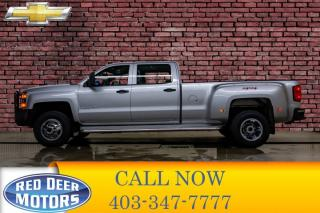 Used 2015 Chevrolet Silverado 3500HD 4x4 Crew Cab LT DRW for sale in Red Deer, AB