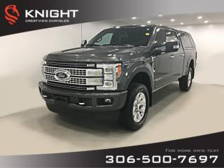 Used 2017 Ford F-250 Super Duty SRW Platinum Crew Cab   Leather   Sunroof   Navigation for sale in Regina, SK