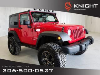 Used 2010 Jeep Wrangler Mountain for sale in Moose Jaw, SK