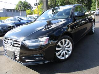 Used 2014 Audi A4 2.0T QTRO KOMFORT|ONE OWNER|101KMS|SUNROOF !! for sale in Burlington, ON