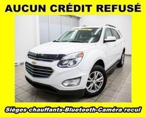 Used 2017 Chevrolet Equinox LT AWD BLUETOOTH CAM RECUL SIÈGES CHAUFF *BAS KM* for sale in St-Jérôme, QC