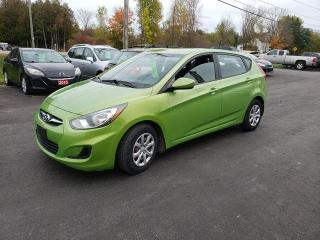 Used 2012 Hyundai Accent GL for sale in Madoc, ON