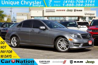 Used 2014 Mercedes-Benz C-Class C300 4MATIC| AVANTGARDE| DRIVING ASSISTANCE PKG for sale in Burlington, ON
