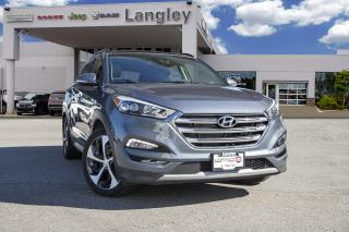 Used 2018 Hyundai Tucson Ultimate 1.6T AWD, PANORAMIC SUNROOF, PARK ASSIST, BLIND SPOT MONITORING, NAVIGATION, APPLE CARPLAY, ANDROID AUDIO for sale in Surrey, BC