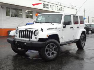 Used 2018 Jeep Wrangler Unlimited Navigation, Leather Seating, Bluetooth, Low Kms for sale in Vancouver, BC