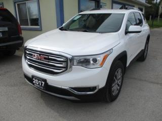 Used 2017 GMC Acadia ALL-WHEEL DRIVE SLE-2 EDITION 6 PASSENGER 3.6L - V6.. CAPTAINS.. THIRD ROW.. HEATED SEATS.. BACK-UP CAMERA.. BOSE AUDIO.. for sale in Bradford, ON