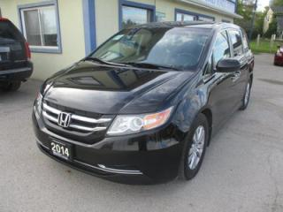 Used 2014 Honda Odyssey FAMILY MOVING EX EDITION 8 PASSENGER 3.5L - V6.. CAPTAINS.. POWER DOORS.. POWER WINDOWS.. BACK-UP CAMERA.. BLUETOOTH.. HEATED SEATS.. for sale in Bradford, ON