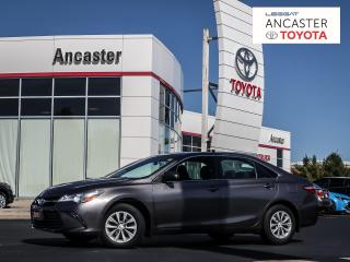 Used 2015 Toyota Camry LE - 1 OWNER|LOW KMS|BLUETOOTH|CAMERA for sale in Ancaster, ON