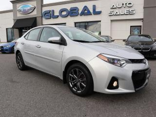 Used 2015 Toyota Corolla Sport Premium AUTO REV. CAMERA ONLY 44 KM. for sale in Ottawa, ON