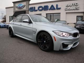 Used 2015 BMW M3 M-POWER , LOW MILEAGE , SUPER FAST. for sale in Ottawa, ON