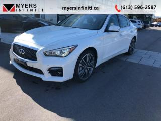 Used 2014 Infiniti Q50 PREMIUM - Technology Package for sale in Ottawa, ON