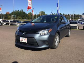 Used 2015 Toyota Corolla CE for sale in Moncton, NB