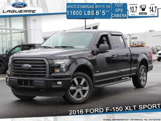 Used 2016 Ford F-150 XLT SPORT**TOIT*GPS*CAMERA*BLUETOOTH*CRUISE*A/C** for sale in Victoriaville, QC