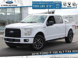 Used 2016 Ford F-150 XLT FX4 4X4**GPS*CAMERA*BLUETOOTH*CRUISE*A/C** for sale in Victoriaville, QC