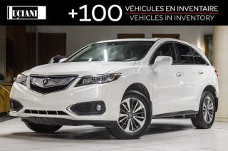 Used 2017 Acura RDX * Elite * Navigation * LED * Warranty 130 000km * for sale in Montréal, QC