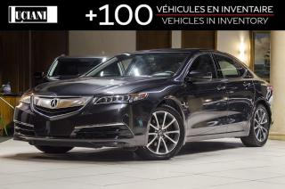 Used 2015 Acura TLX * SH-AWD * 0.9% Finance Rate * Warranty 130 000km for sale in Montréal, QC