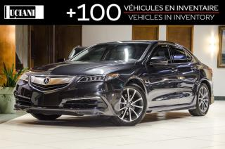 Used 2015 Acura TLX * SH-AWD * LOW KM * LED * CERTIFIED for sale in Montréal, QC