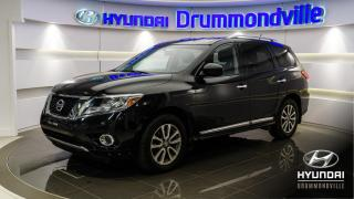 Used 2015 Nissan Pathfinder SL + 4X4 + CUIR + CAMERA + WOW !! for sale in Drummondville, QC