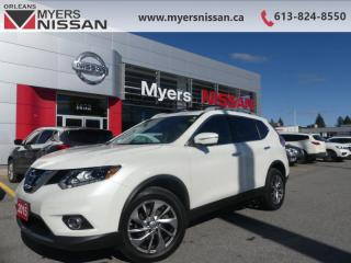 Used 2015 Nissan Rogue SL  - Sunroof -  Leather Seats - $137 B/W for sale in Orleans, ON