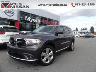 Used 2015 Dodge Durango LIMITED  - Leather Seats -  Bluetooth - $178 B/W for sale in Orleans, ON