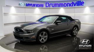 Used 2013 Ford Mustang GT + MAGS + CUIR + CRUISE + WOW !! for sale in Drummondville, QC