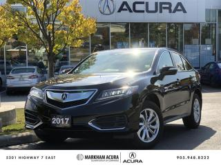 Used 2017 Acura RDX Tech at AWD, Navigation, Backup Cam for sale in Markham, ON