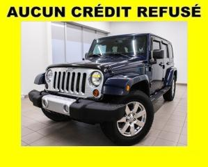 Used 2013 Jeep Wrangler SAHARA 4X4 CLIMATISEUR MAGS *GROUPE ÉLECTRIQUE* for sale in Mirabel, QC