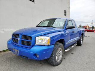 Used 2007 Dodge Dakota ST 4X4 *BAS KILOMETRAG* CLIMATISEUR *PROMO for sale in Mirabel, QC
