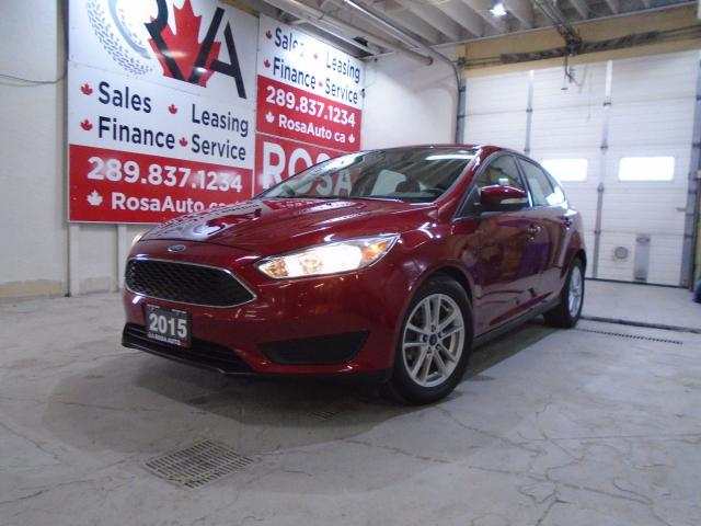 2015 Ford Focus SE ALLOY B-TOOTH LOW KM 1 OWNER H-SEATS