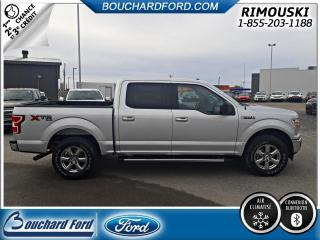 Used 2018 Ford F-150 XLT CREW 4X4 BAS KILOMETRAGE for sale in Rimouski, QC