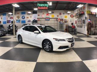 Used 2016 Acura TLX TECH PKG AUT0 NAVI LEATHER P/START SUNROOF CAMERA for sale in North York, ON