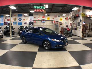 Used 2015 Honda Civic Sedan EX 5 SPEED A/C SUNROOF BACKUP CAMERA BLUETOOTH 175K for sale in North York, ON